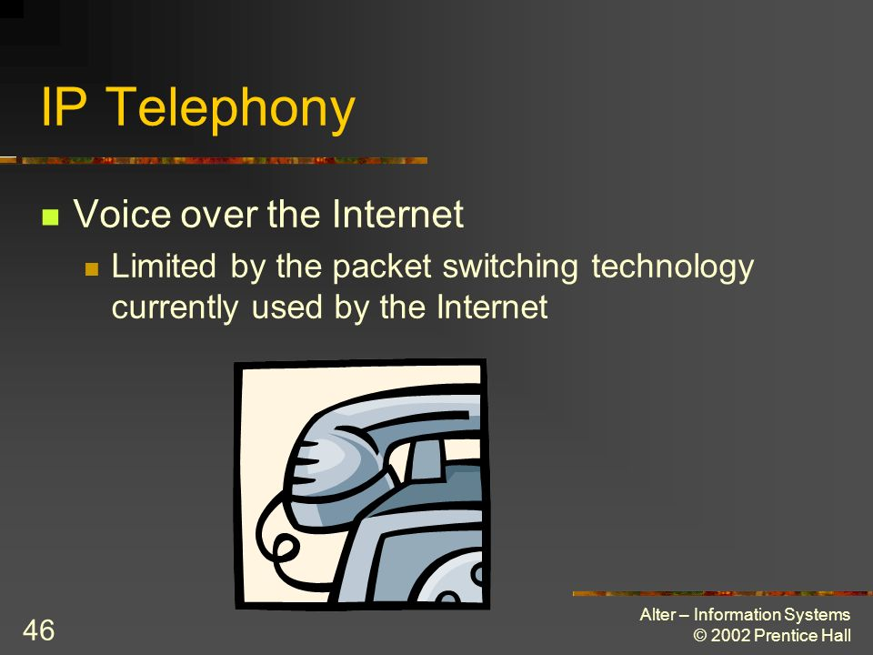 IP Telephony Voice over the Internet