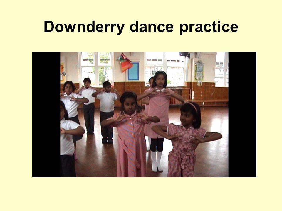 Downderry dance practice