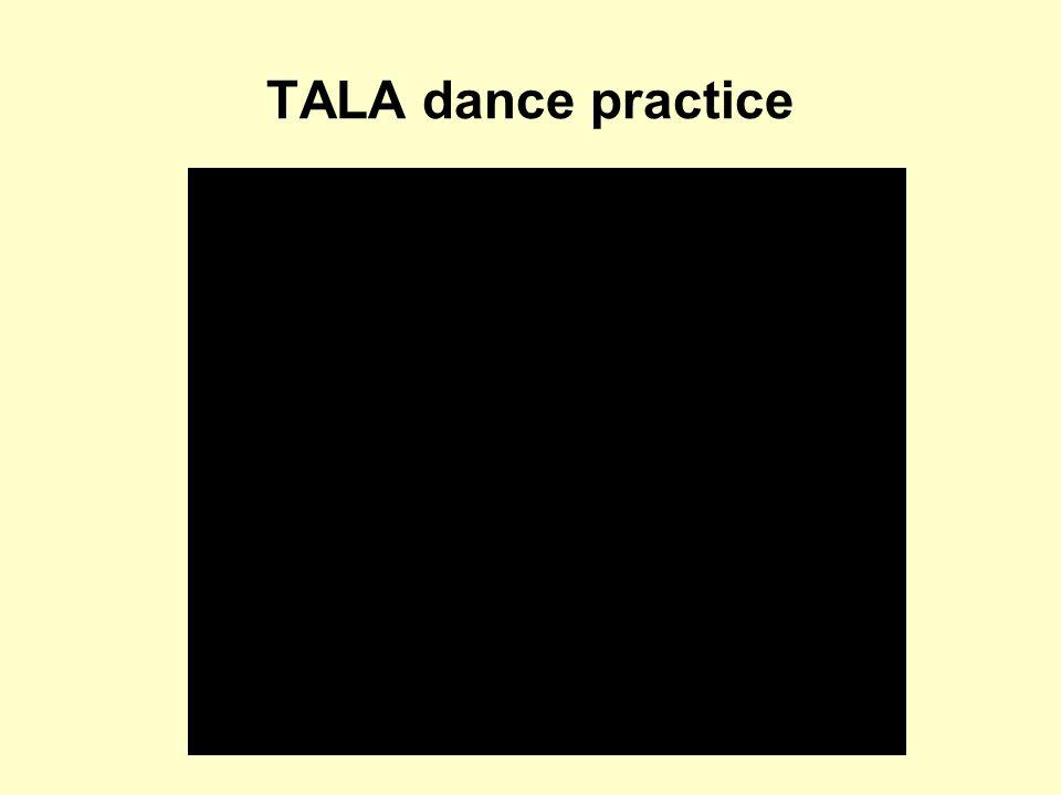TALA dance practice