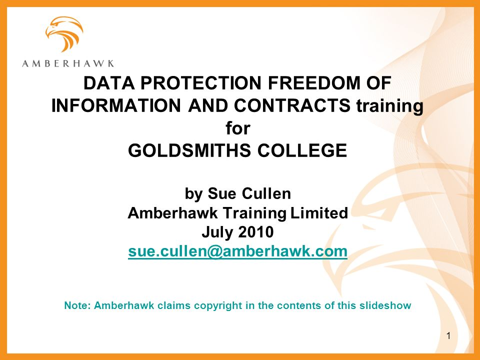 Data protection and freedom