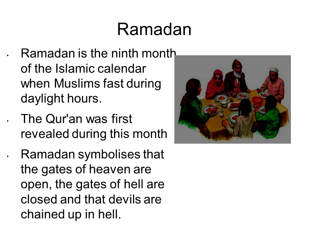 Ramadan Is The Ninth Month Of Islamic Calendar Essay