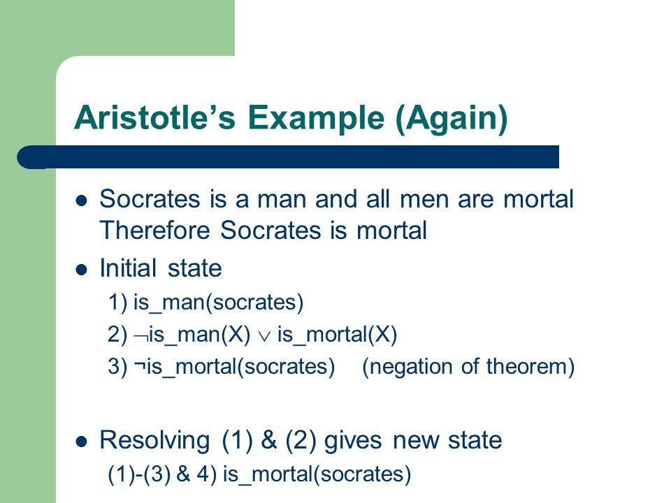 Aristotle's Example (Again)