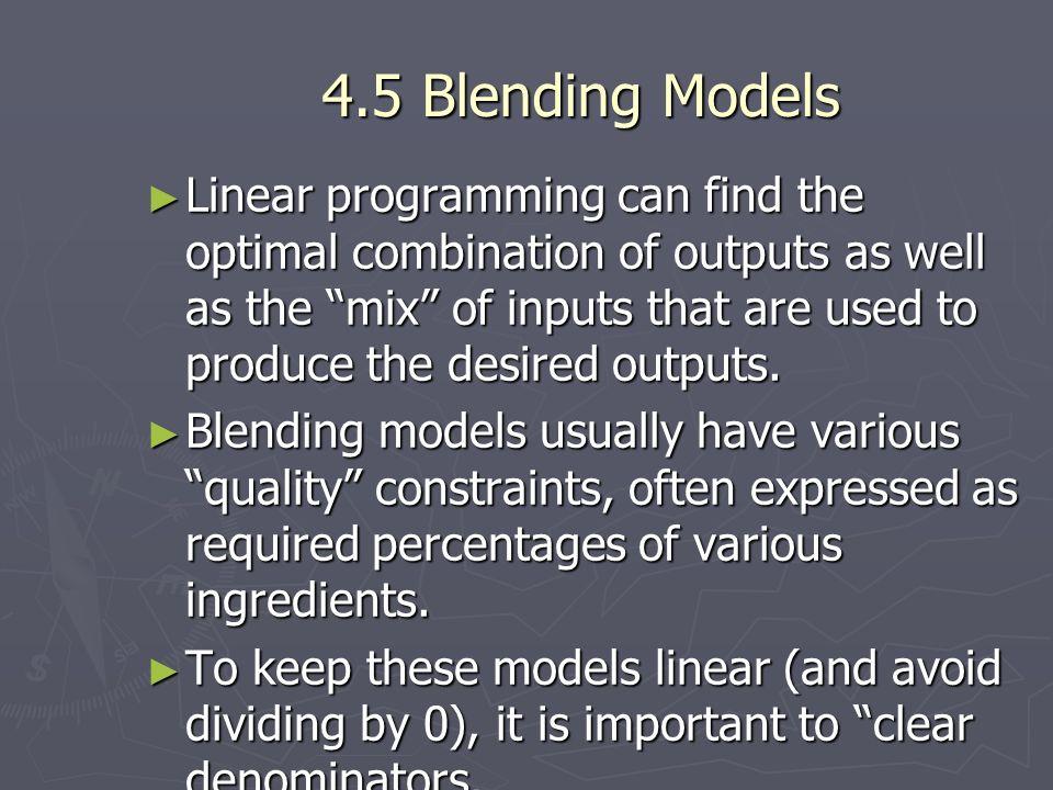 4.5 Blending Models