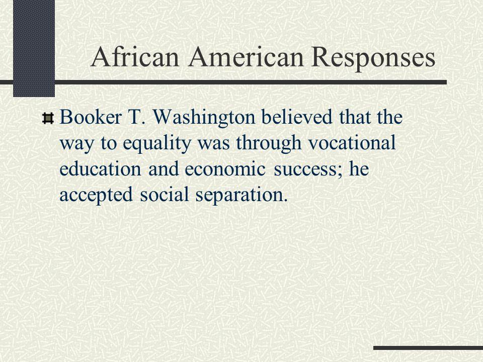 African American Responses