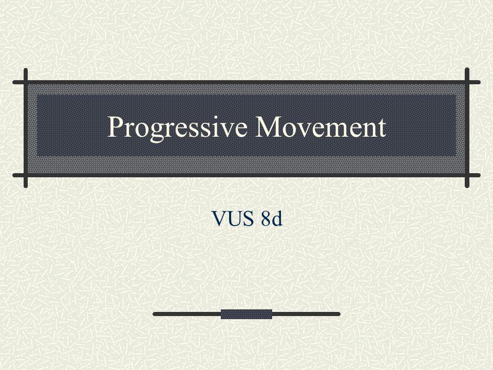 Progressive Movement VUS 8d
