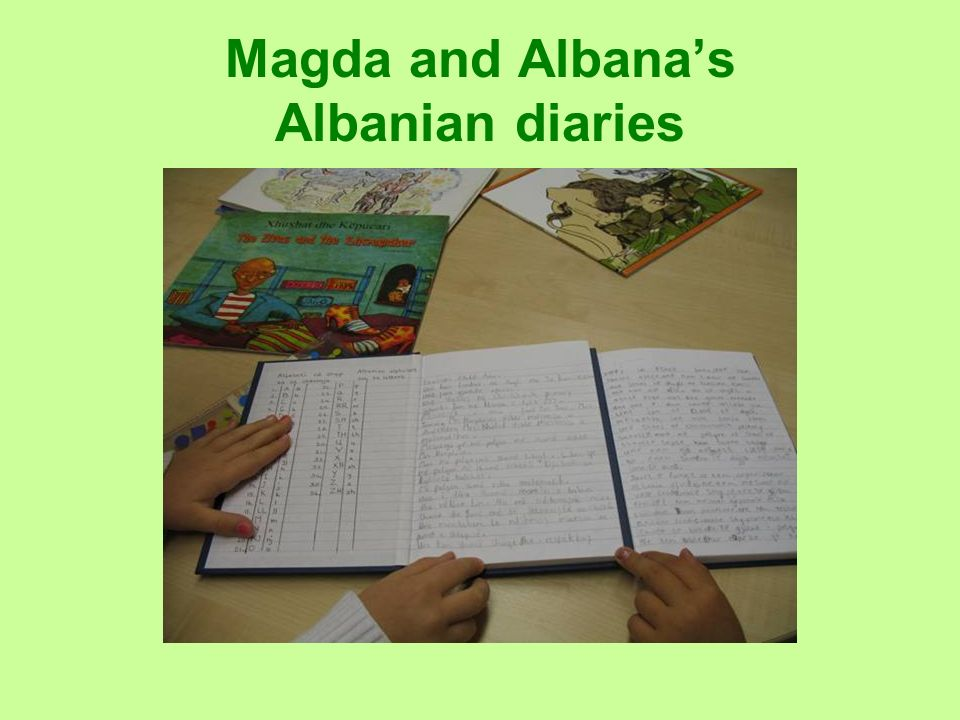 Magda and Albana's Albanian diaries