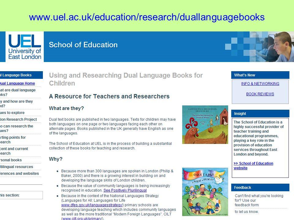 www.uel.ac.uk/education/research/duallanguagebooks