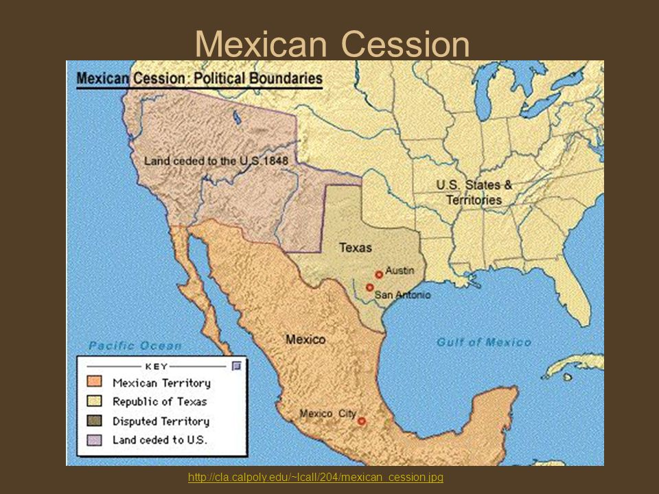 The Mexican American War Territorial Acquisition Ppt Download - Us territory acquisition map