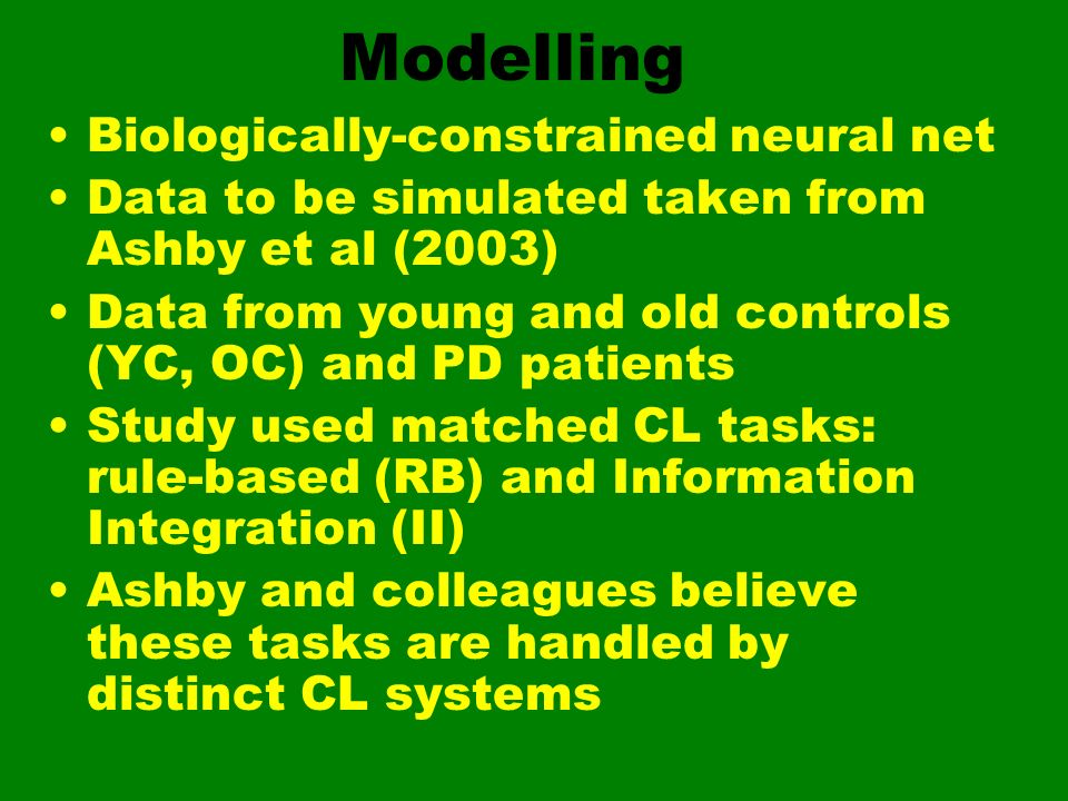 Modelling Biologically-constrained neural net