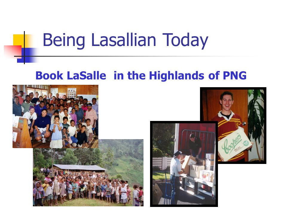 Book LaSalle in the Highlands of PNG