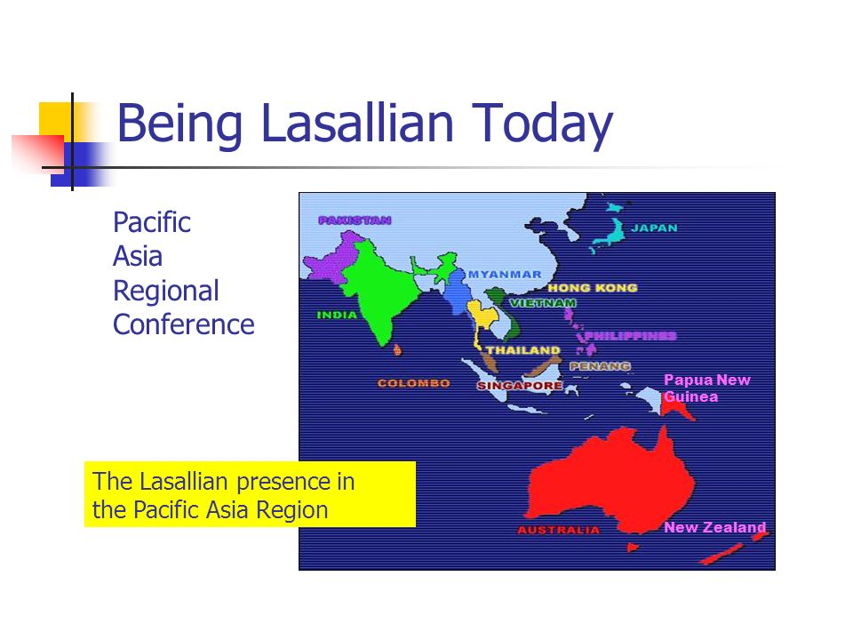 Being Lasallian Today Pacific Asia Regional Conference