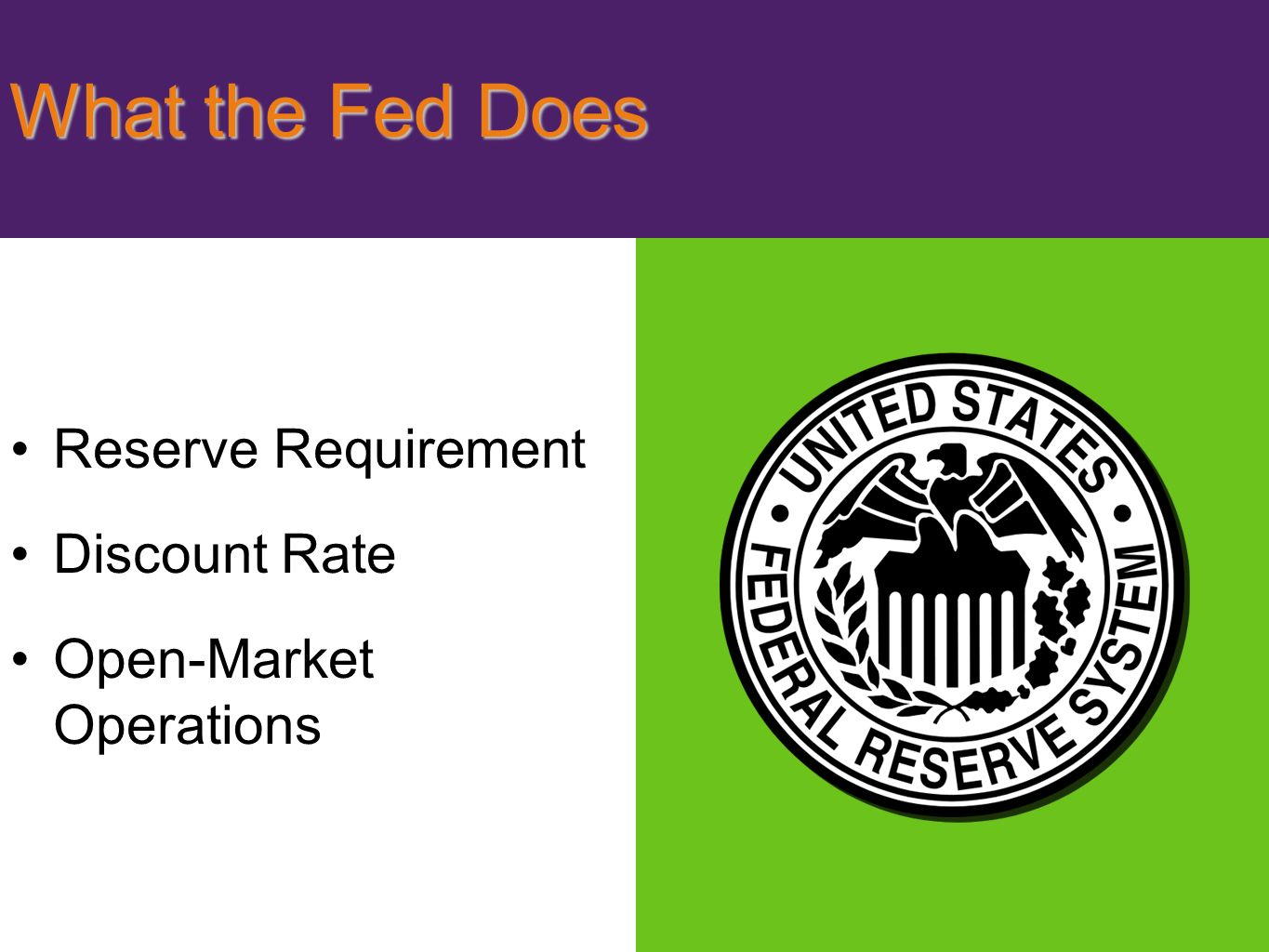 the federal reserveís current monetary policy essay Free college essay the federal reserve's current monetary policy the federal reserve's current monetary policy the federal reserve monetary policy is the responsibility of the fomc (federal open market.