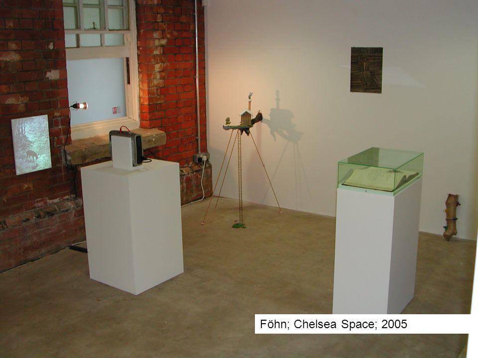 Föhn; Chelsea Space; 2005