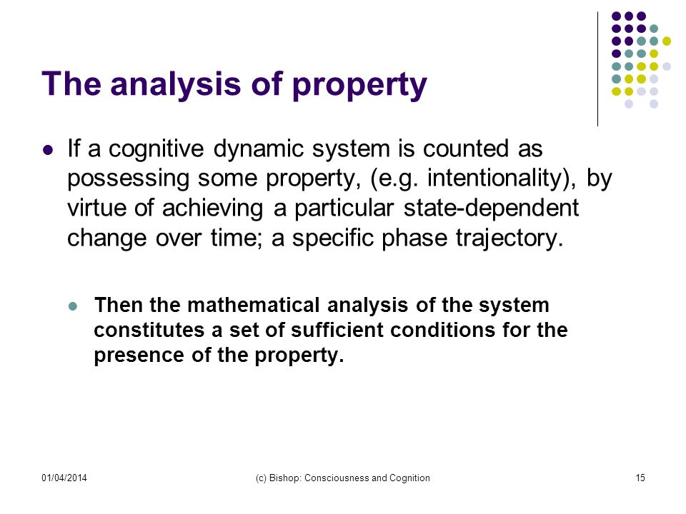 The analysis of property