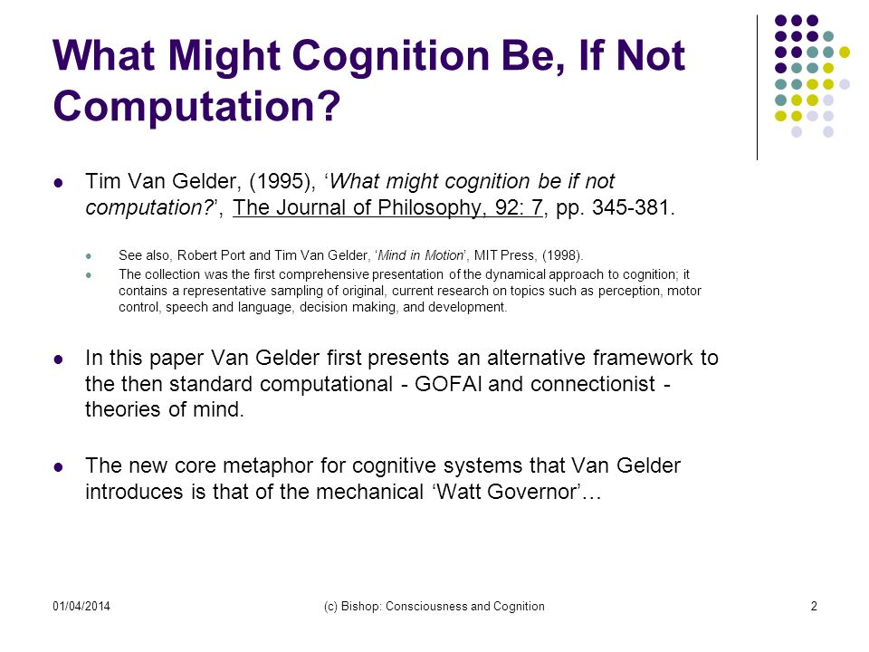 What Might Cognition Be, If Not Computation