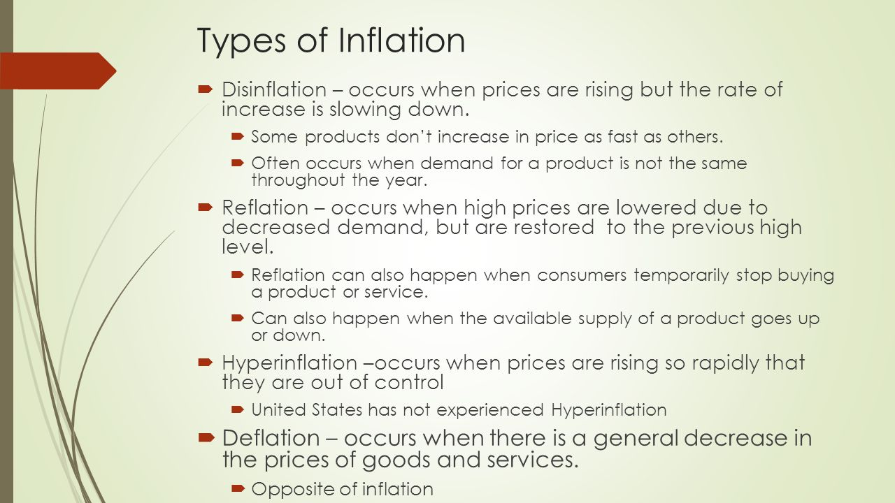 Understand the Different Types of Inflation