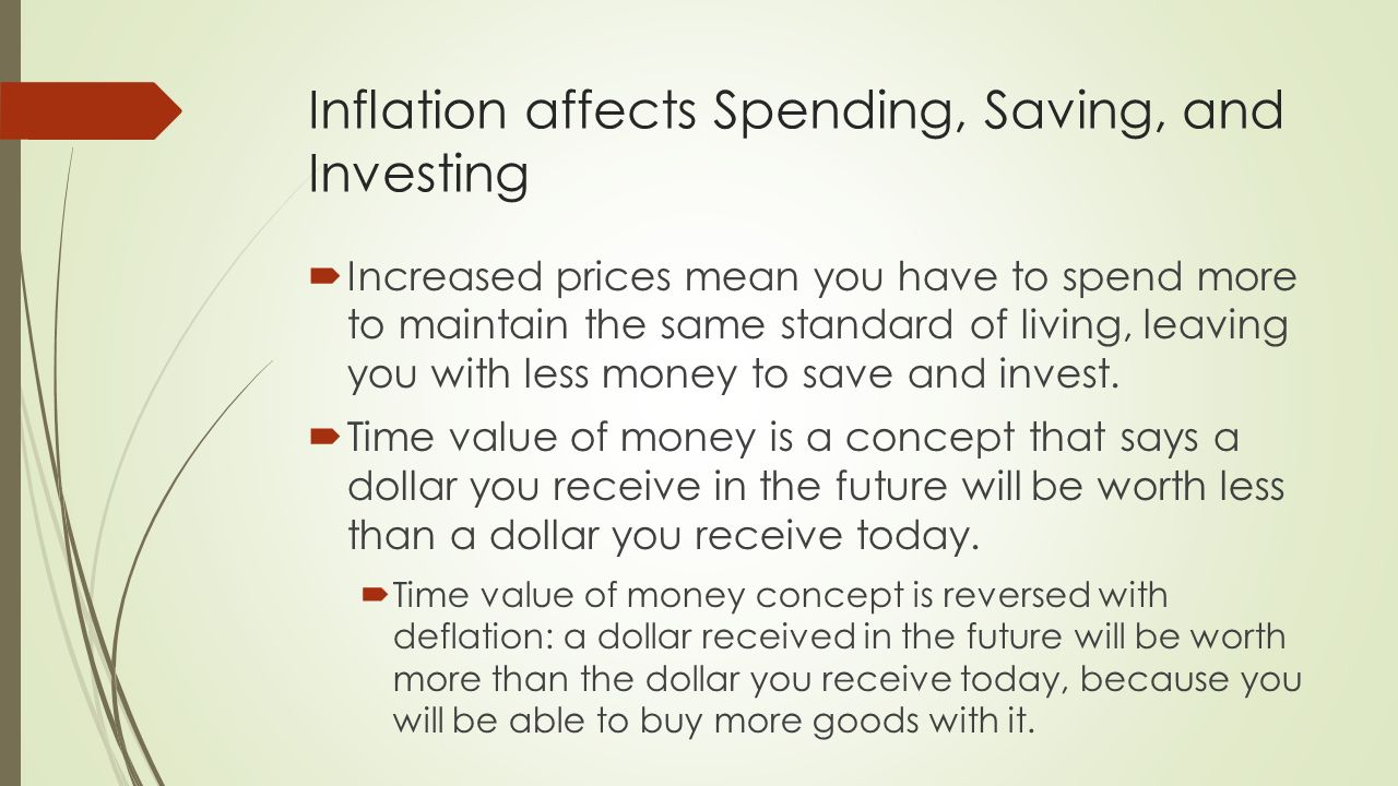 how inflation affects banking In economics, inflation is a sustained increase in price level of goods and services in an economy over a period of time when the price level rises, each unit of currency buys fewer goods and services consequently, inflation reflects a reduction in the purchasing power per unit of money – a loss of real value in the medium of exchange and.