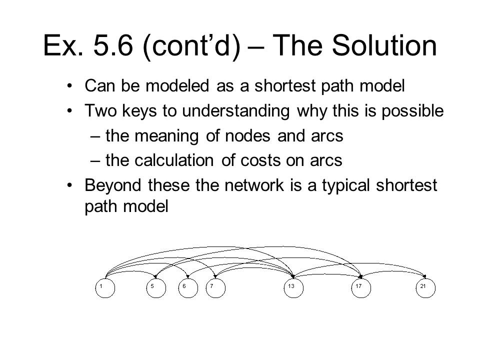 Ex. 5.6 (cont'd) – The Solution