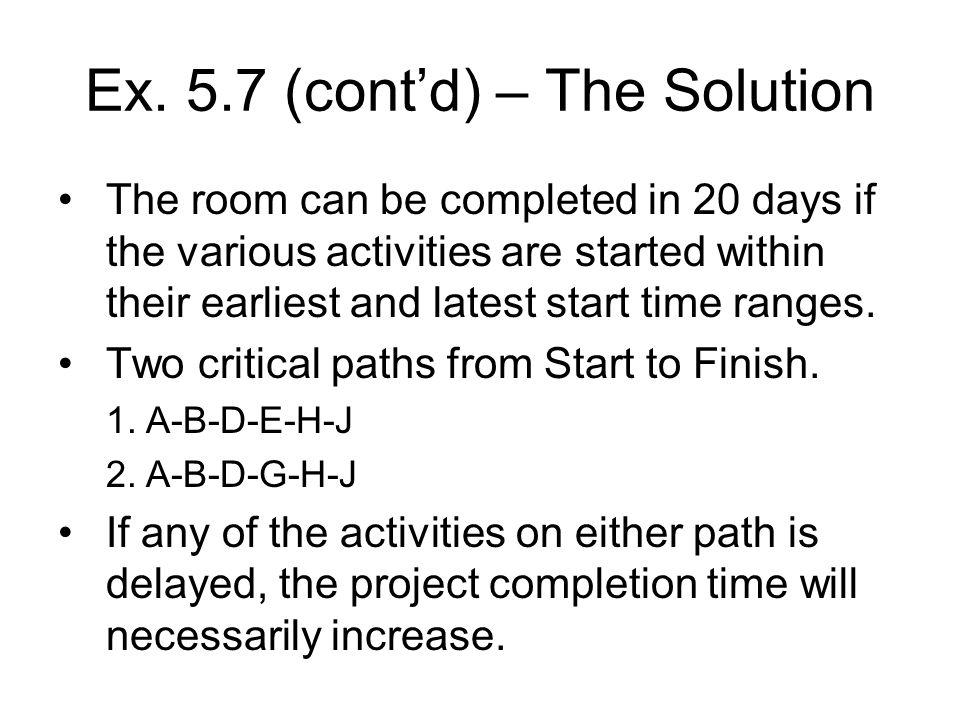 Ex. 5.7 (cont'd) – The Solution