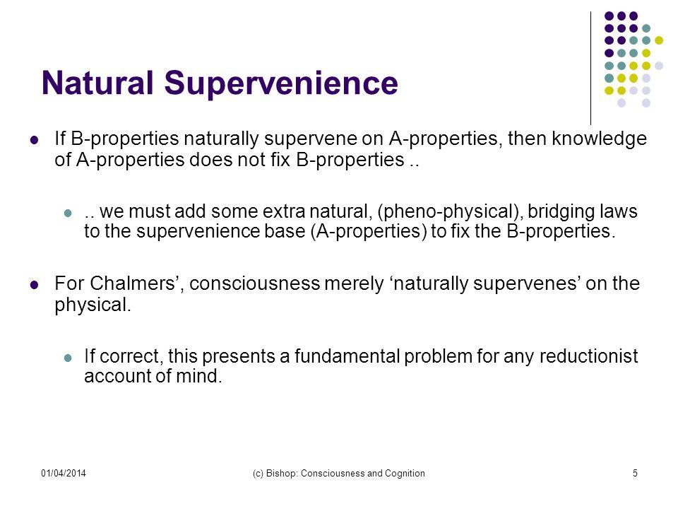 Natural Supervenience