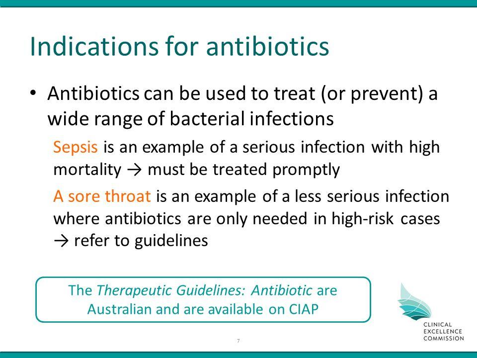 therapeutic guidelines antibiotics and australian medicines handbook