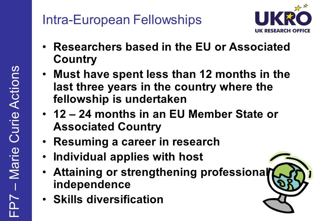 Intra-European Fellowships