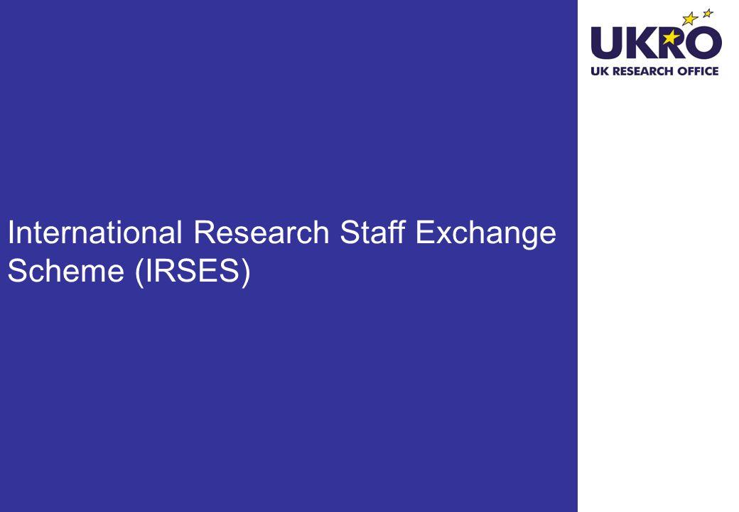 International Research Staff Exchange Scheme (IRSES)
