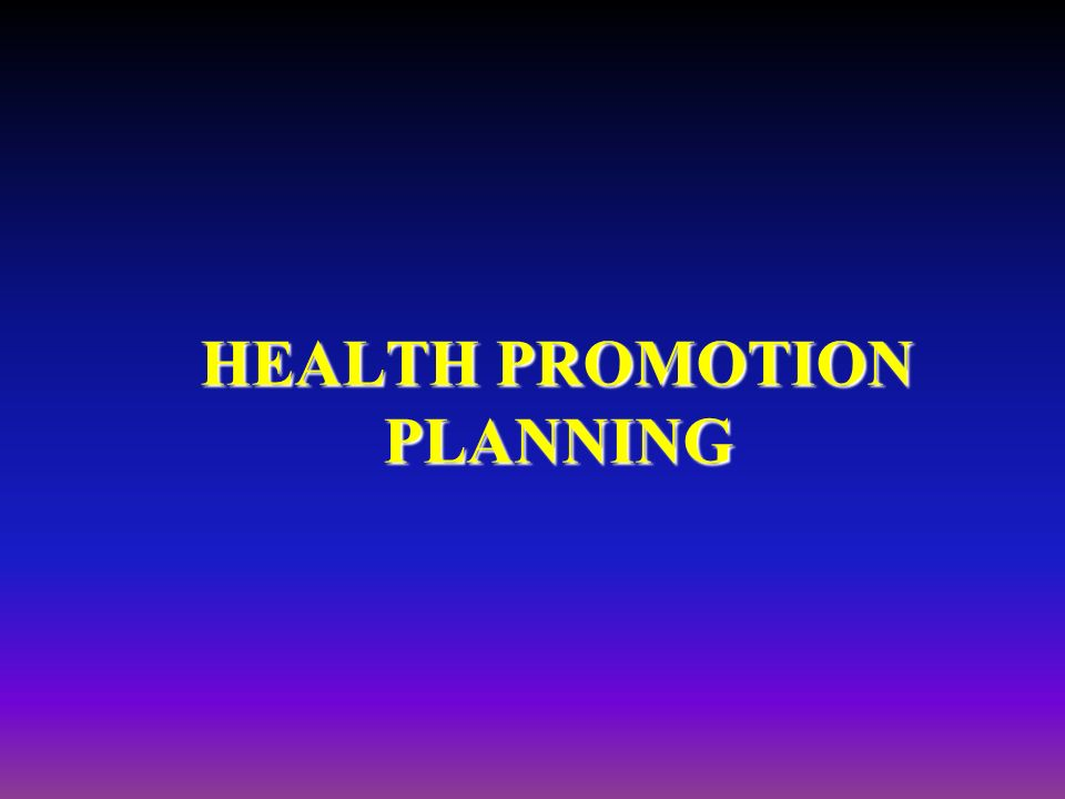 health promotion plan The health promotion strategic framework i n t e g r a t e d c a r e t r a i n i ng determinants of health capacity building hospitals policies health inequalities.