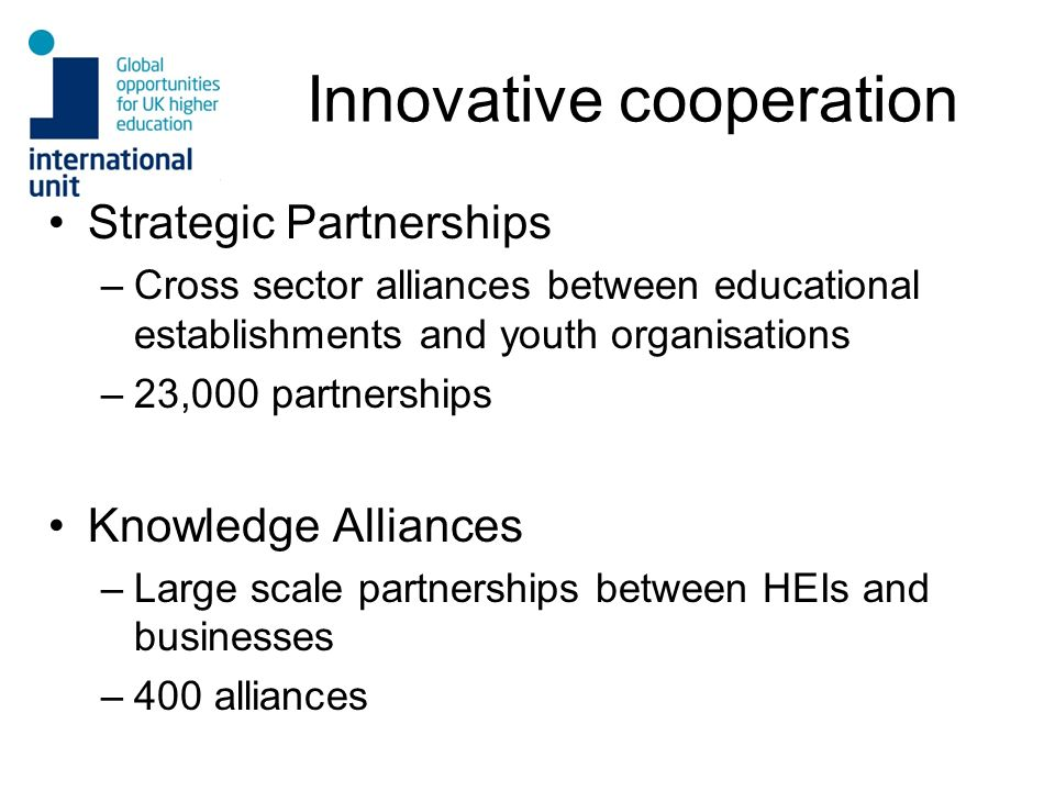 Innovative cooperation