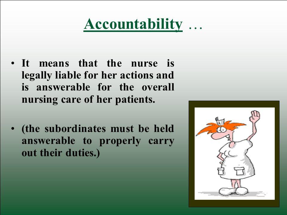 duties of a nurse