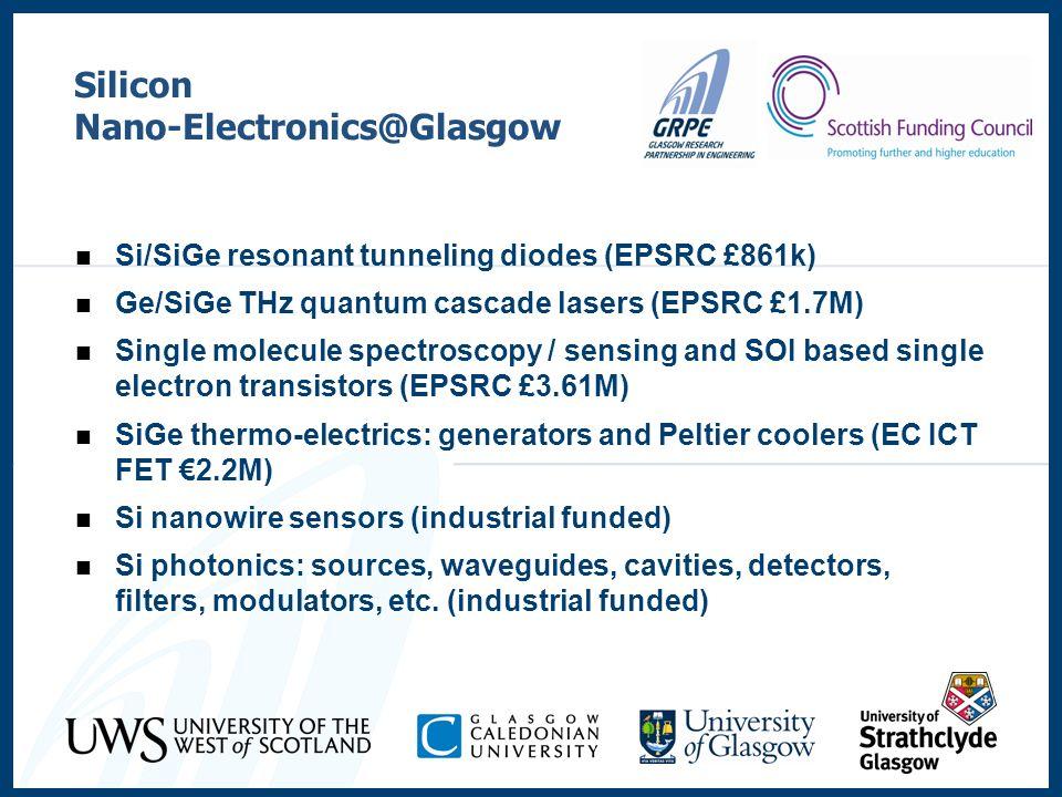 Nano-Electronics@Glasgow