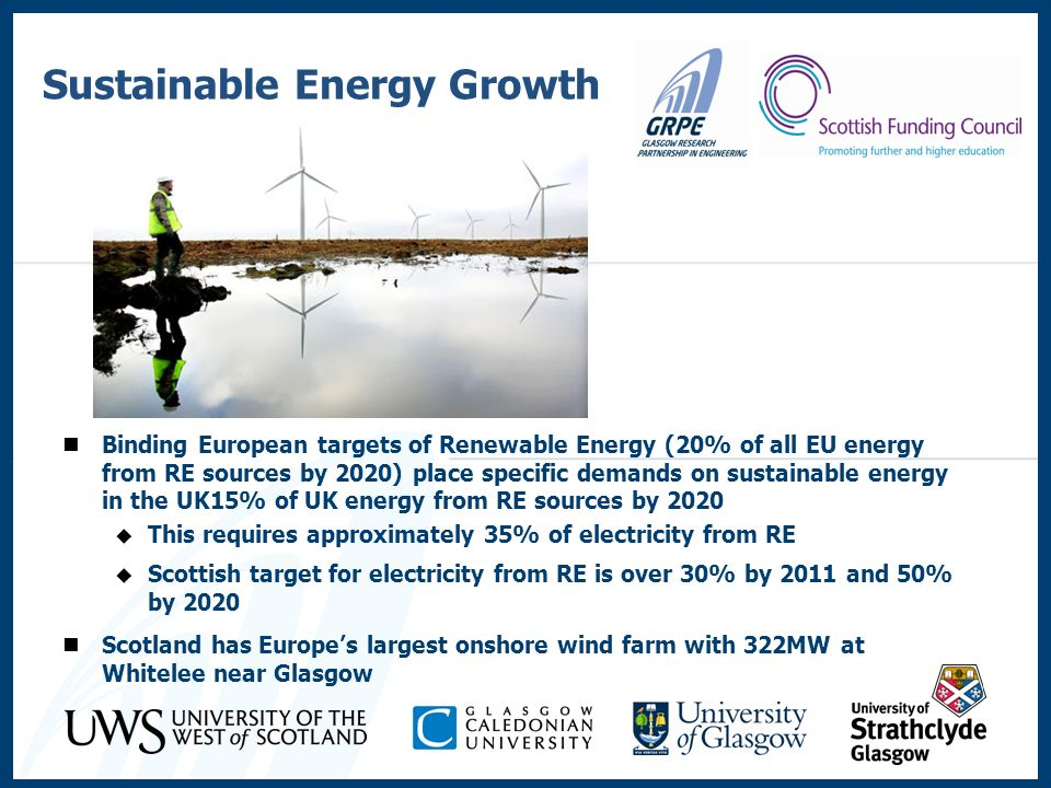 Sustainable Energy Growth