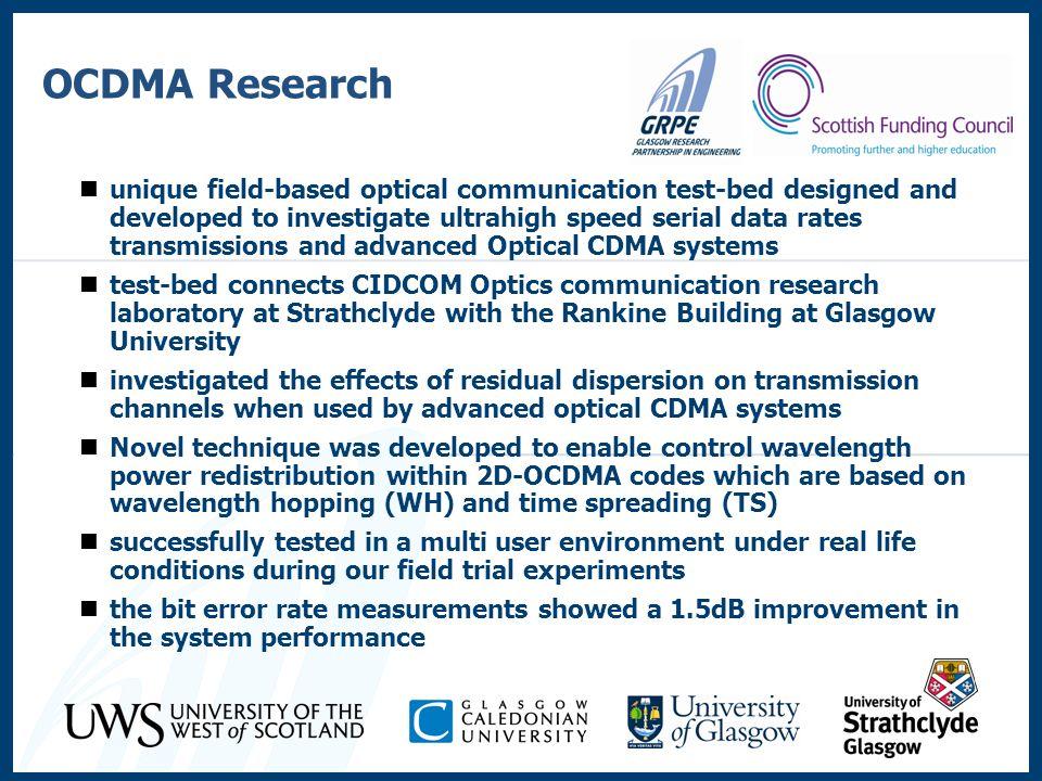 OCDMA Research