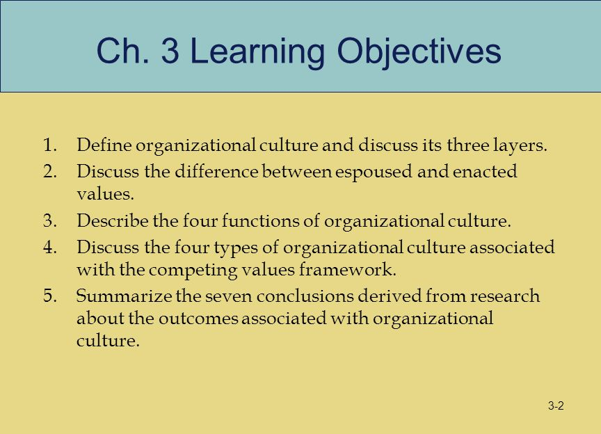 organizational culture research Definition and interpretation in cross-cultural organizational culture research: some pointers from the globe research program marcus w dickson.