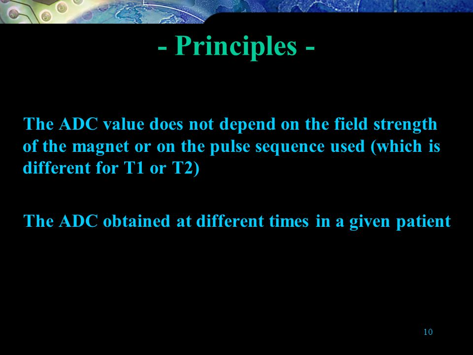- Principles - About ADC