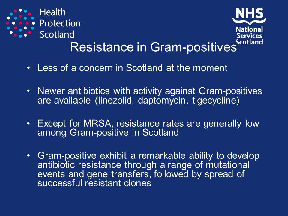 Resistance in Gram-positives