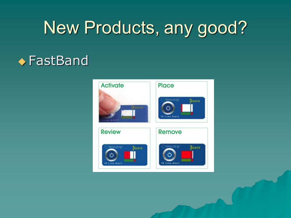 New Products, any good FastBand