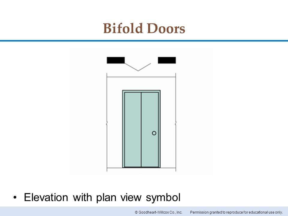 Elevation Plan Door : Chapter doors and windows