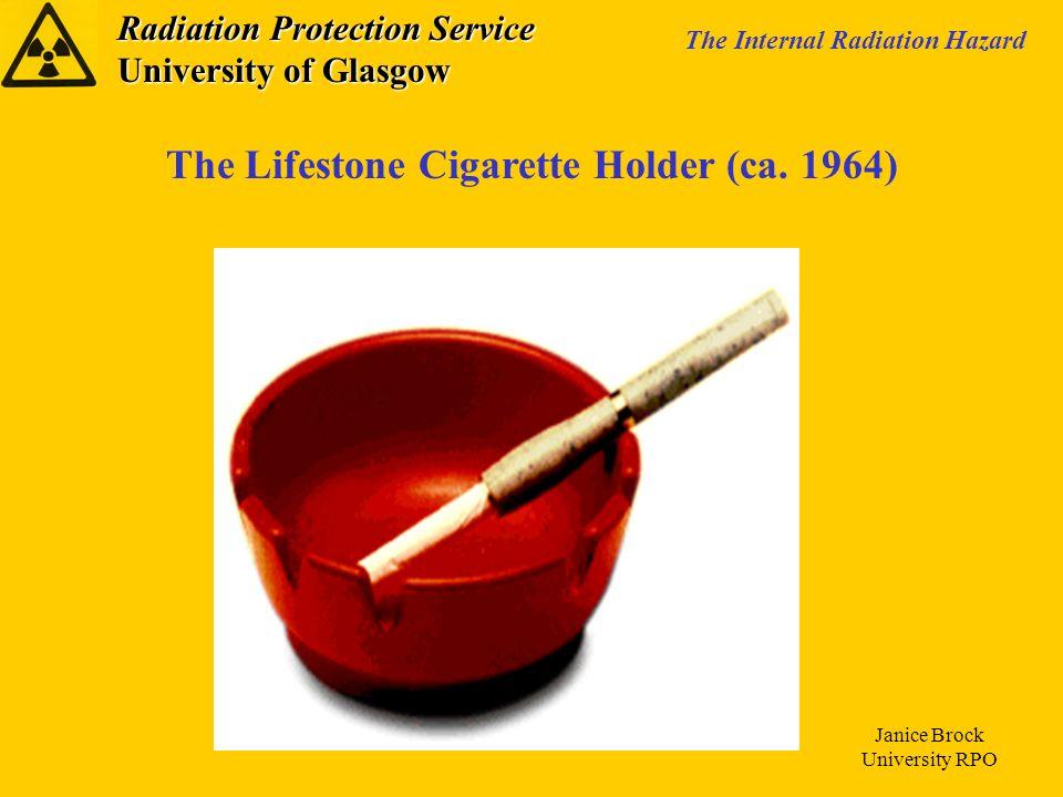 The Lifestone Cigarette Holder (ca. 1964)