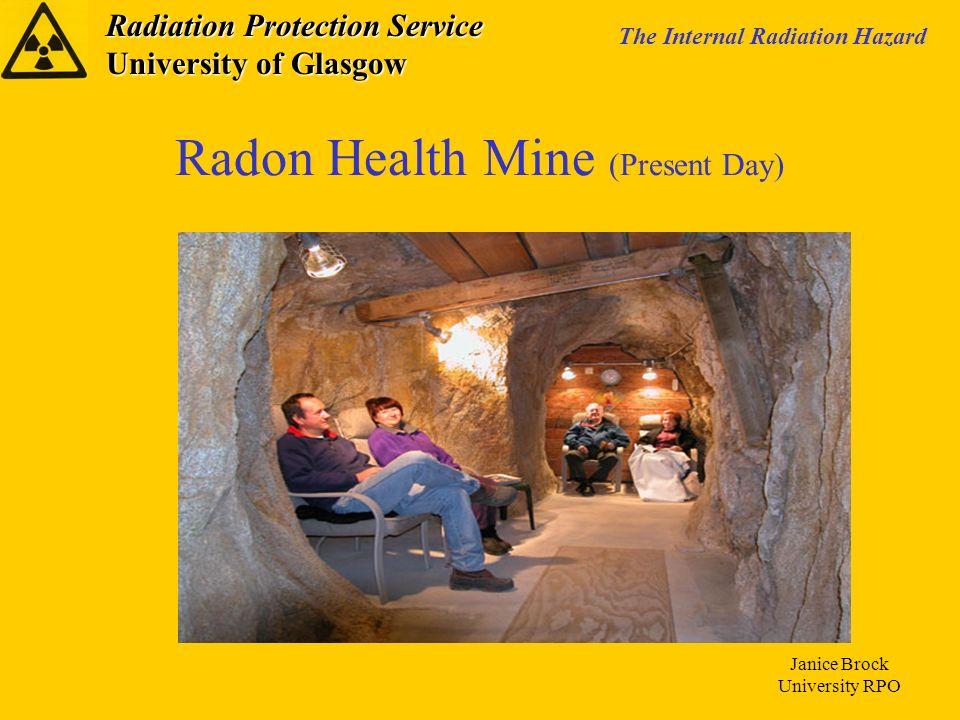 Radon Health Mine (Present Day)