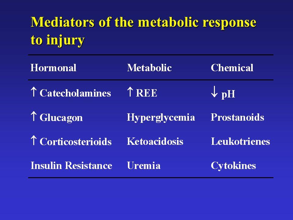 Mediators of the metabolic response