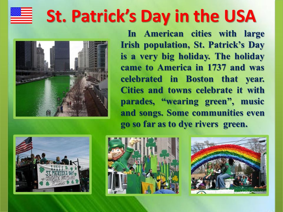 St. Patrick's Day in the USA