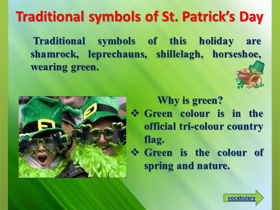 Traditional symbols of St. Patrick's Day