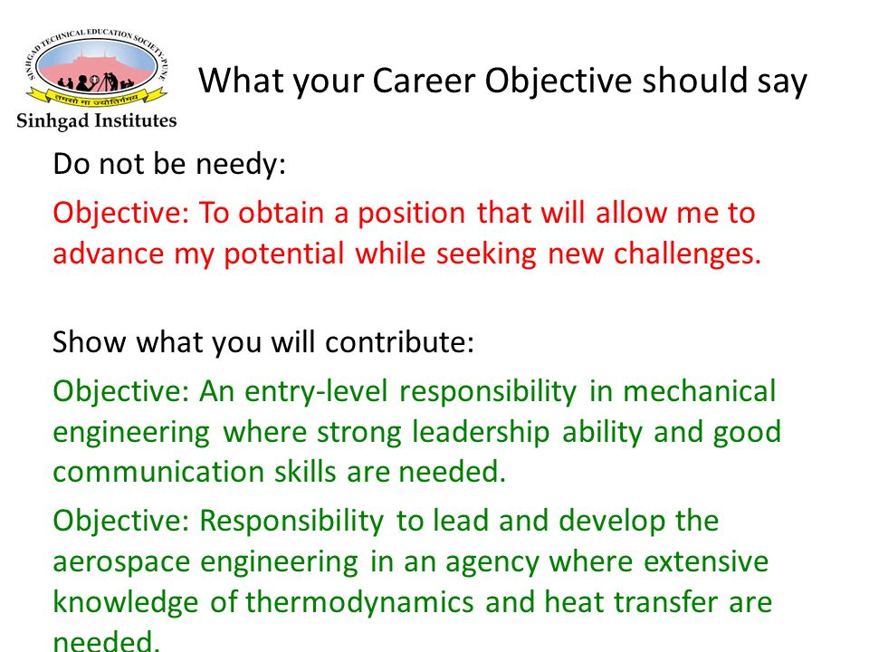 What Your Career Objective Should Say  What Are Your Career Objectives