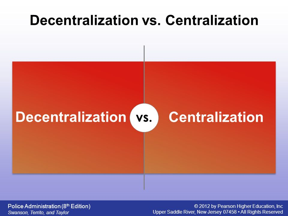 Centralized vs. Decentralized Purchasing
