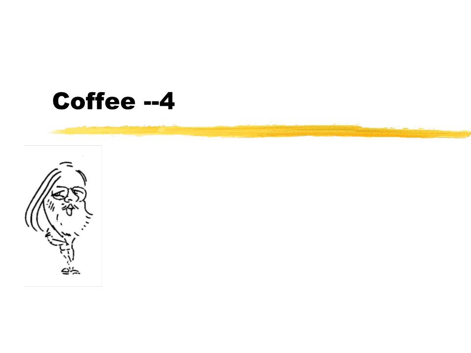 Coffee --4