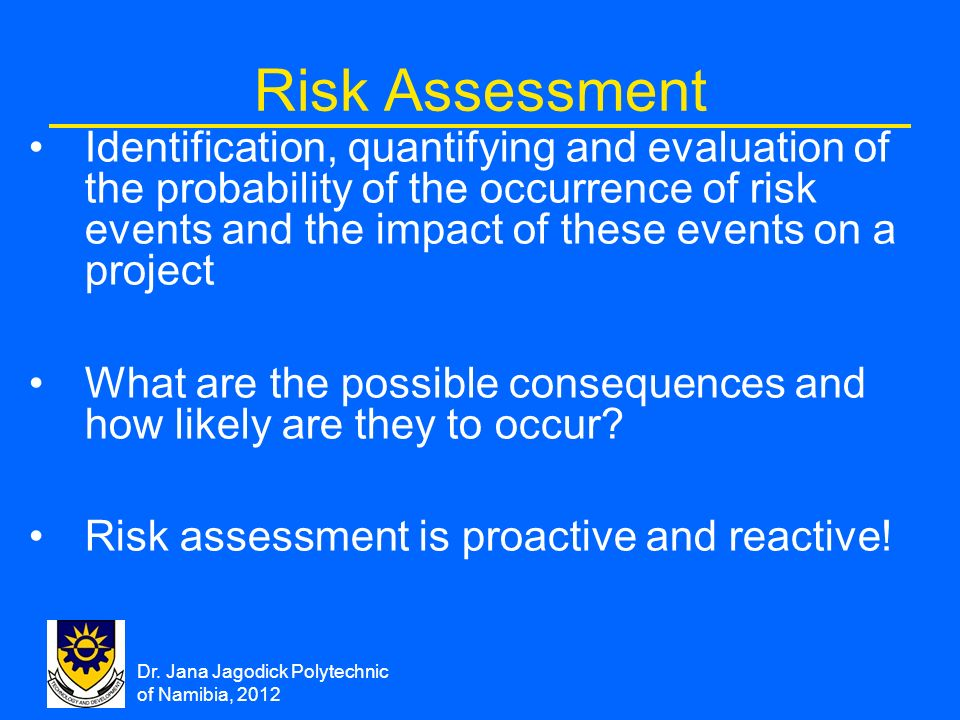 Chapter 12 Project Risk Management - Ppt Download