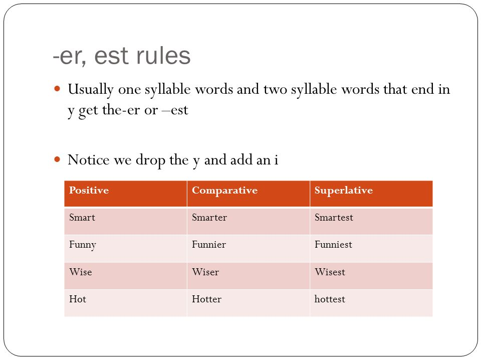 comparative and superlative rules pdf