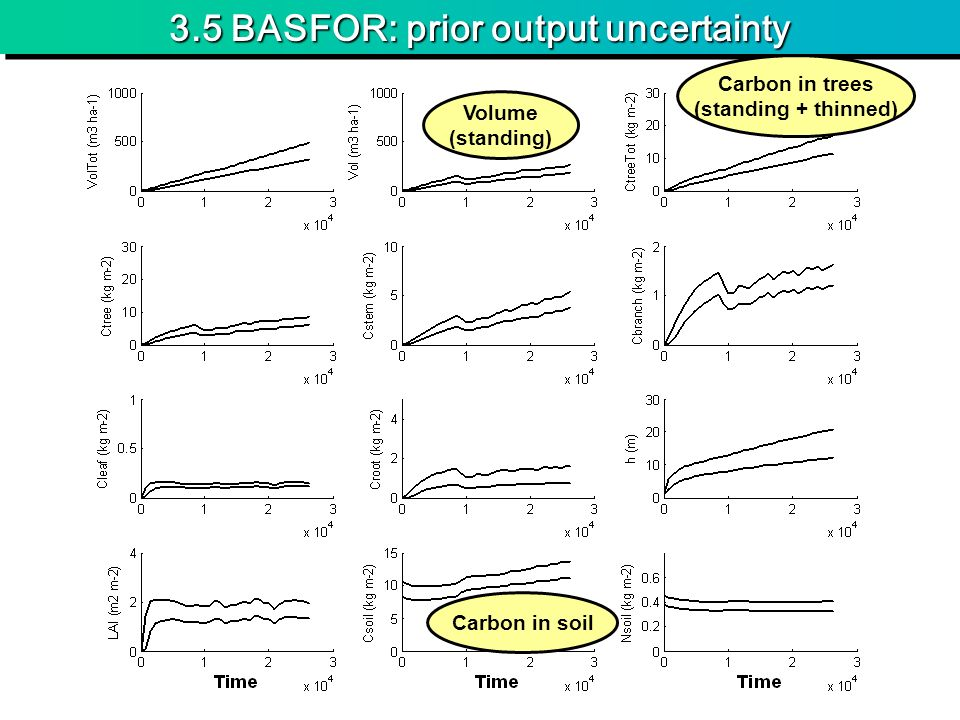 3.5 BASFOR: prior output uncertainty