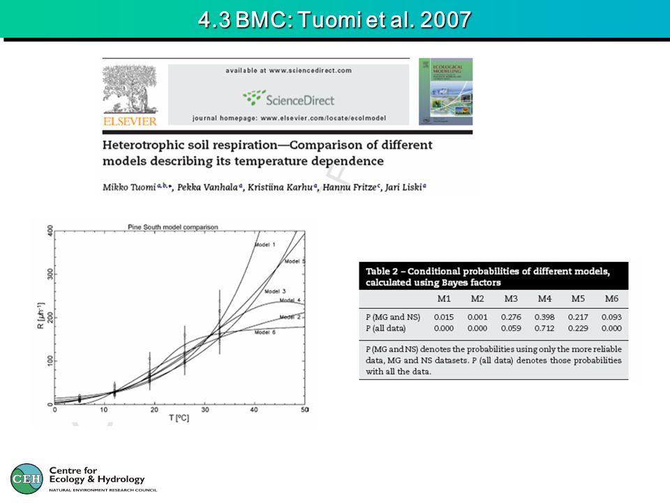 4.3 BMC: Tuomi et al. 2007